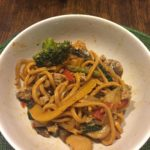 Stirfry with siracha noodles!